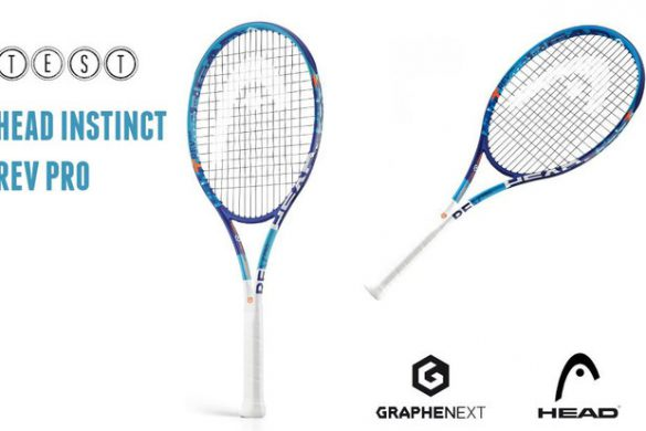 Test de la Head Instinct Rev Pro