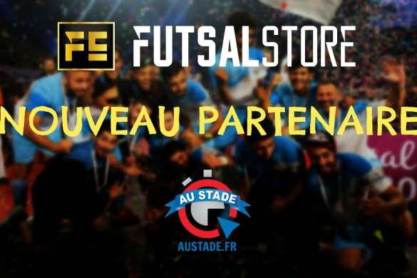Futsal-Store, nouveau partenaire d'Au Stade