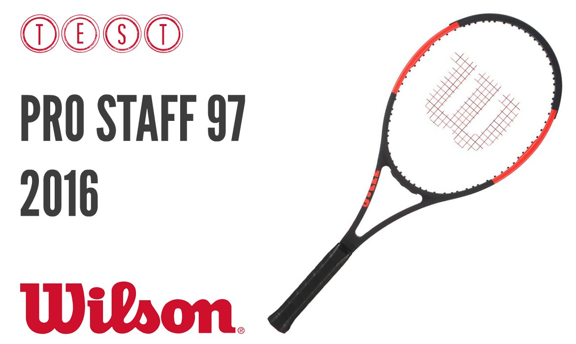test de la nouvelle wilson pro staff 97 tennis conso. Black Bedroom Furniture Sets. Home Design Ideas