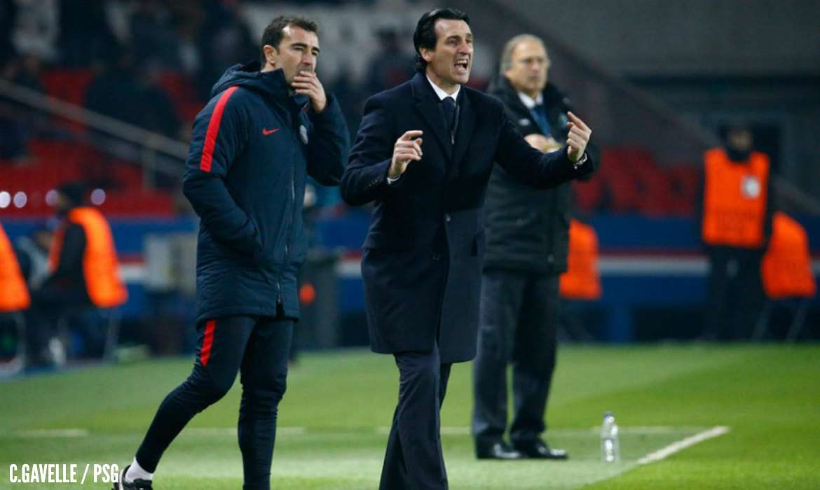 unai emery paris psg