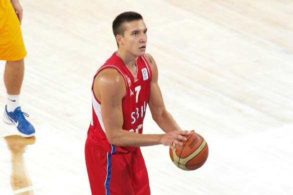Bogdan Bogdanovic serbie basket