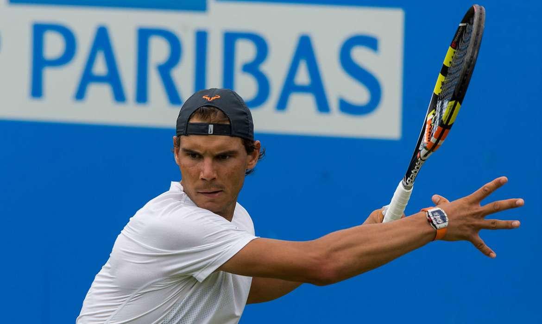rafael nadal gazon tennis