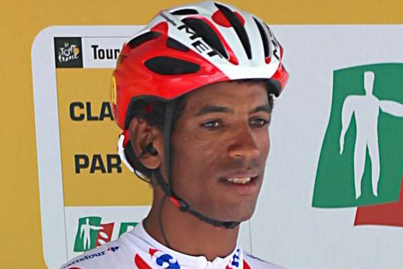 Daniel Teklehaimanot maillot pois rouges tour de france cyclisme