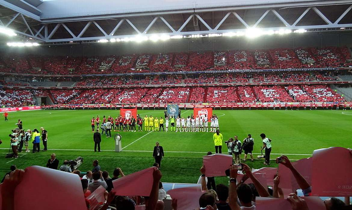 lille losc football ligue 1 stade pierre mauroy