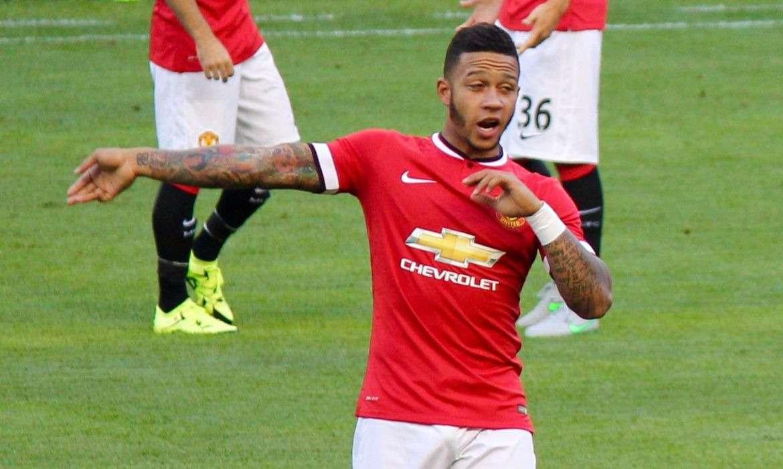 memphis depay manchester united football 2015