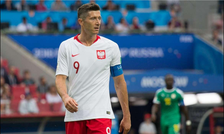 robert lewandowski pologne football