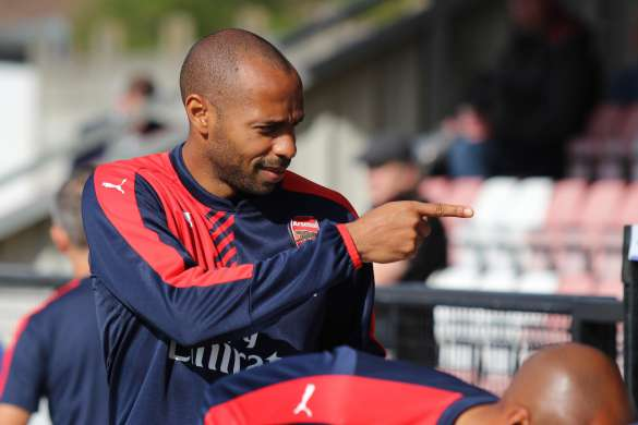 thierry henry arsenal football