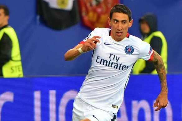 angel di maria psg football paris