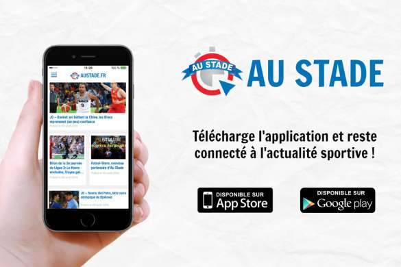 au stade application mobile