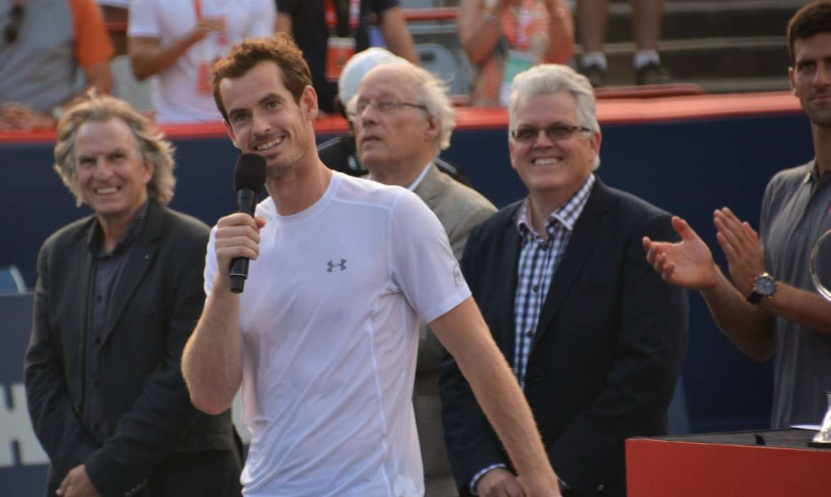 andy murray discours