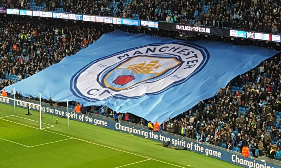 manchester city tifo