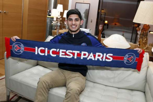 goncalo guedes paris saint germain