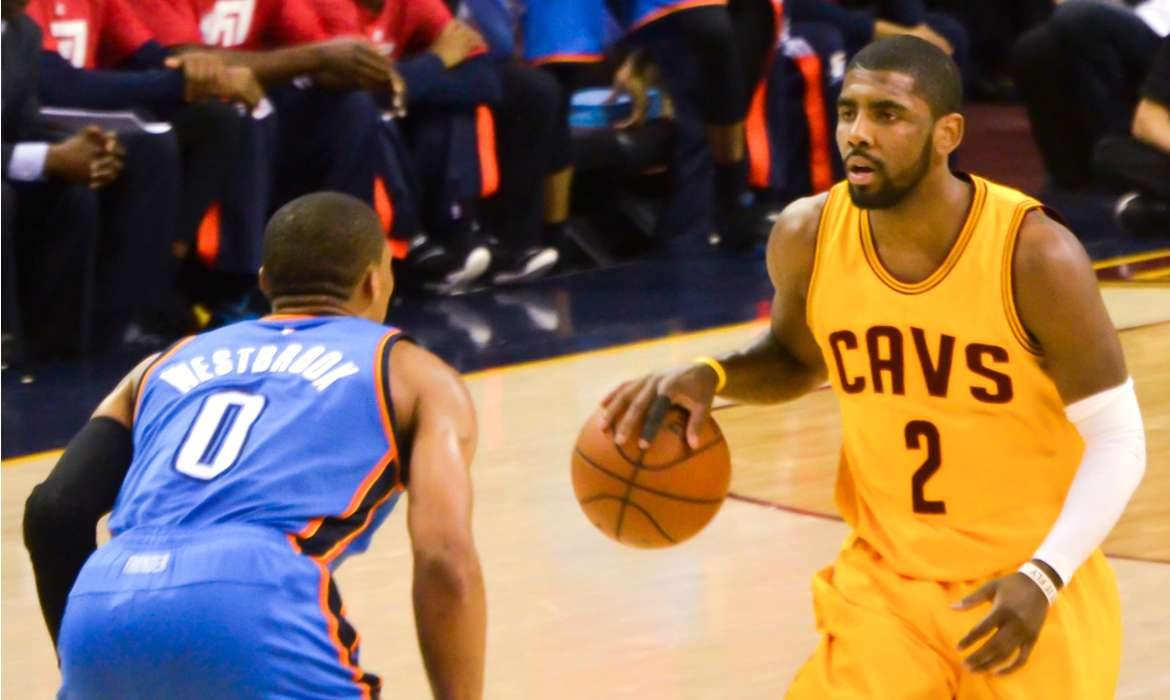 Kyrie Irving cavaliers cleveland nba