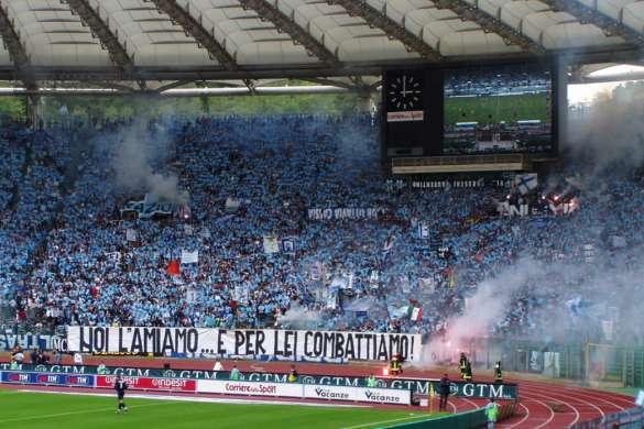 lazio rome supporters serie a