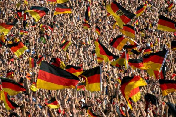 football allemagne supporteurs