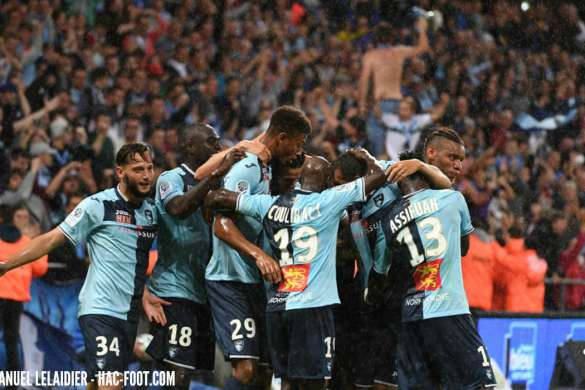 le havre ac football ligue 2