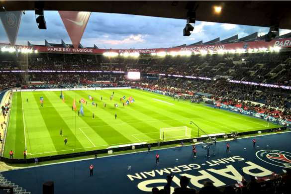 parc des princes paris saint germain football