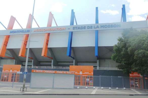 stade de la mosson montpellier foot ligue 1