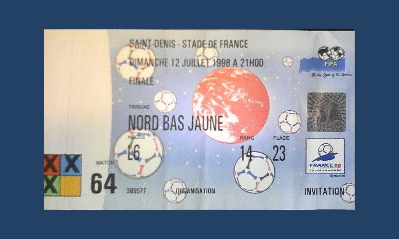 place coupe du monde 1998 france