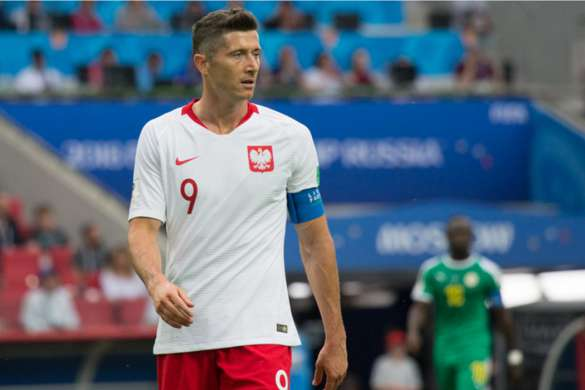 robert lewandowski pologne football