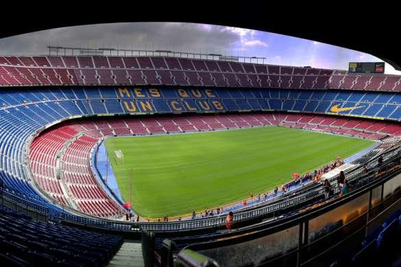 camp nou espagne foot fc barcelone liga