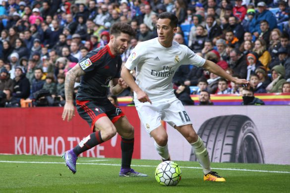 lucas vazquez real madrid football liga