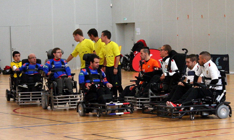 foot fauteuil handisport france