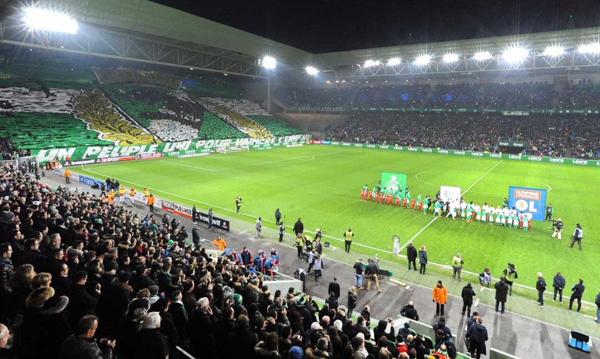 stade geoffroy guichard football saint etienne