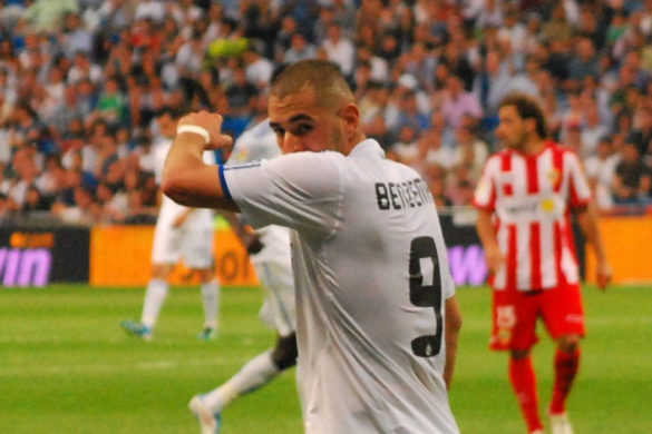 karim benzema football real madrid