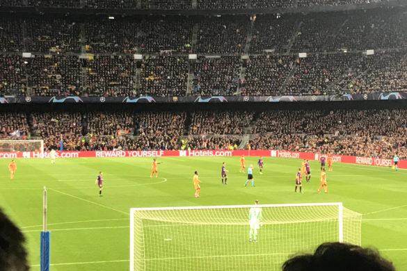 football ligue des champions barcelone olympique lyonnais