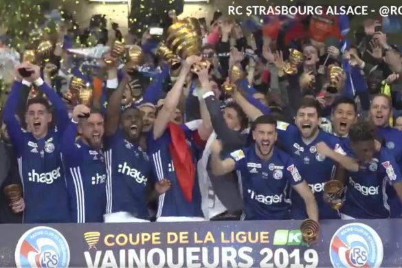 rc strasbourg alsace coupe de la ligue 2019