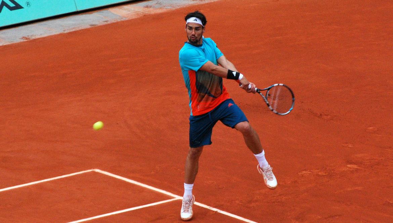 fabio fognini tennis terre battue 2012