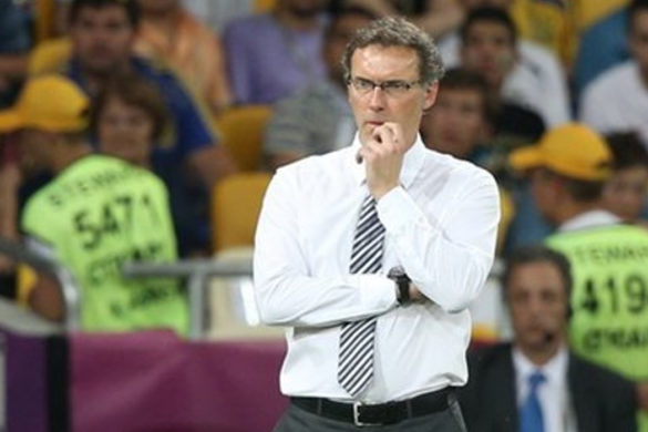 laurent blanc football equipe de france euro 2012