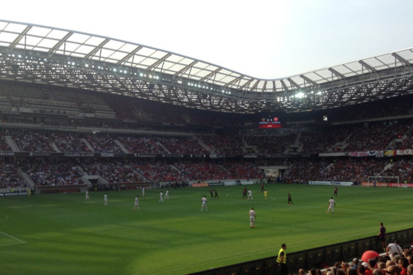 ogc nice football stade allianz riviera