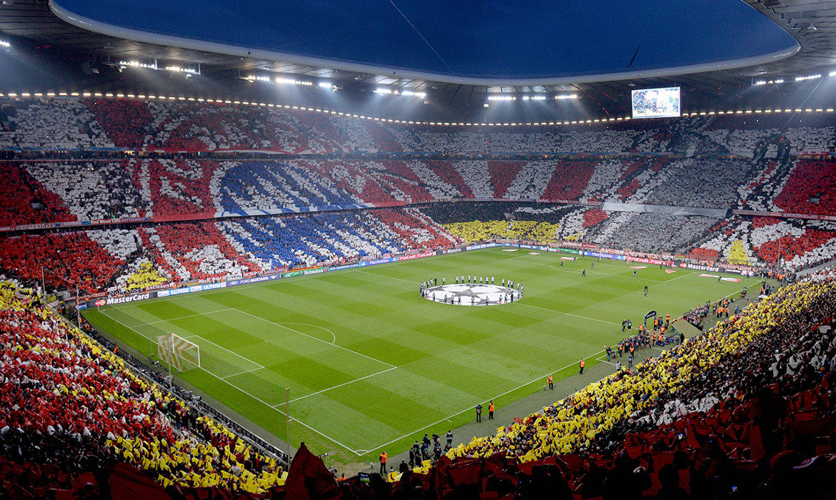 bayern munich stade football tifo