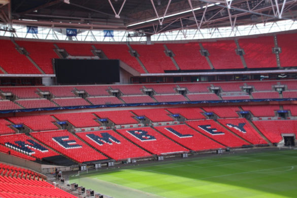 football angleterre wembley