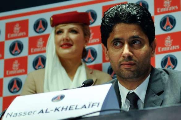 Nasser Al-Khelaïfi president psg foot Christophe Pelletier