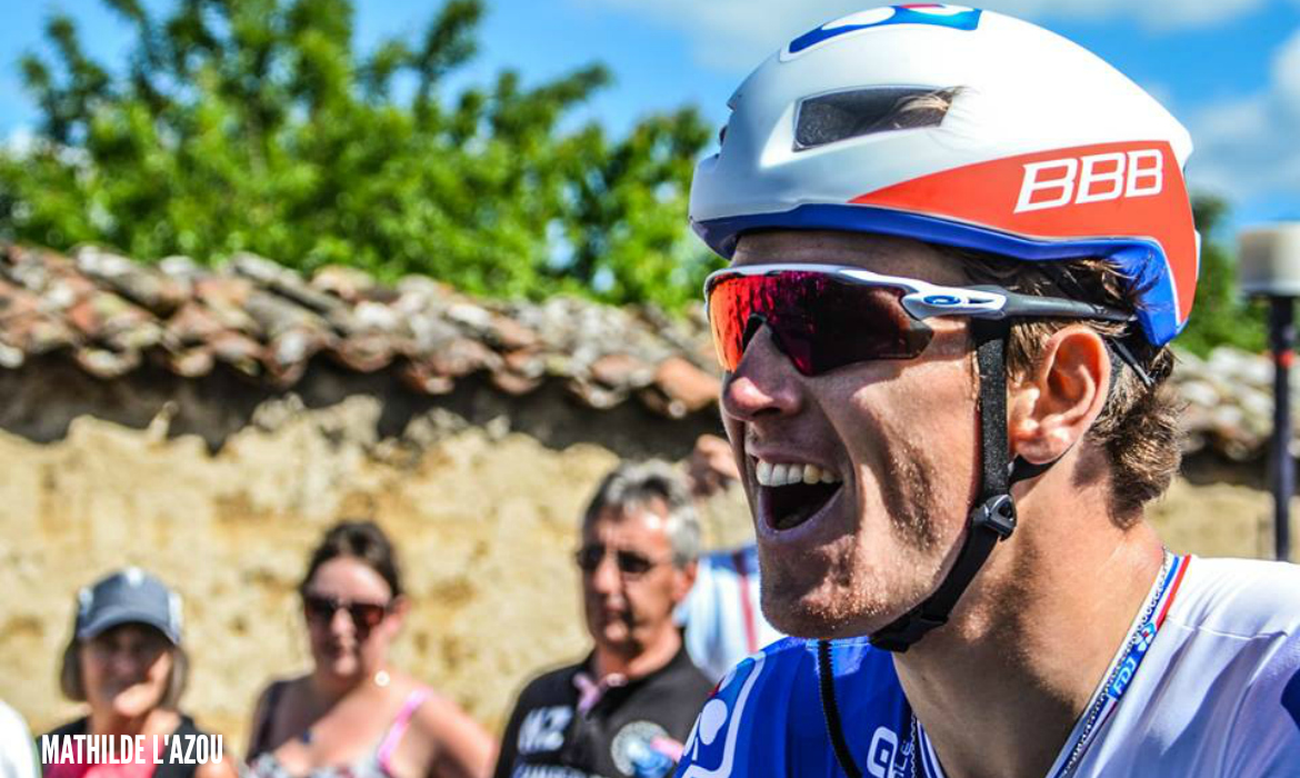 arnaud demare team fdj Mathilde L'Azou