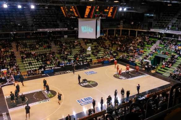 asvel ldlc pro a basket europeen Vanbasten 23
