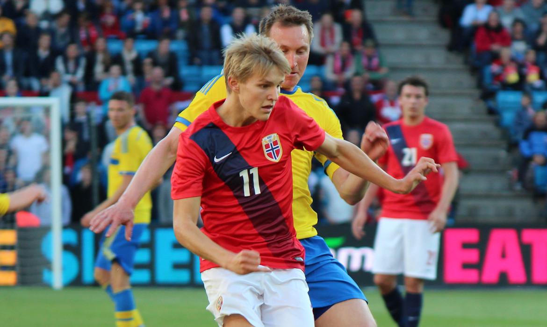 matin odegaard football norvege suede Ehaddeland