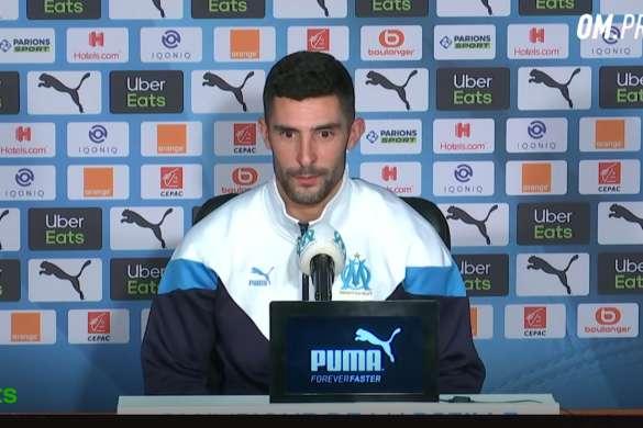 alvaro gonzales football om marseile conference de presse