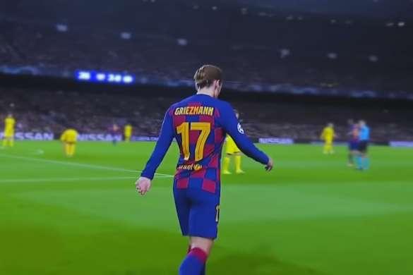 antoine griezmann football fc barcelone