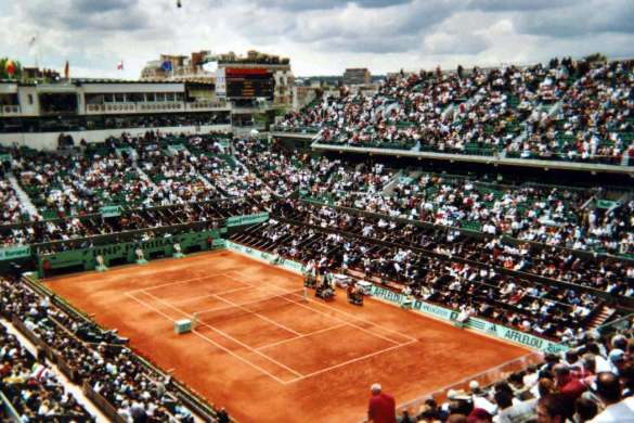 Roland Garros court Central philippe chatrier tennis