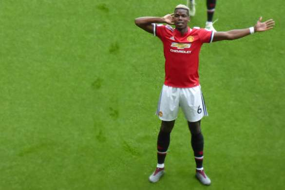 paul pogba 2018 manchester united premier league football