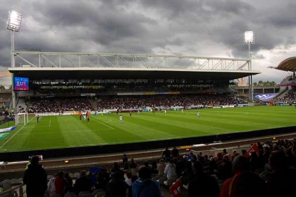 stade gerland football ol lyon