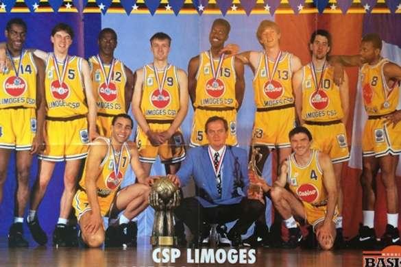 Limoges csp 1993 ligue des champions