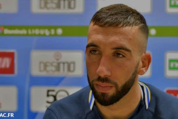 florian tardieu football estac troyes ligue 2 interview