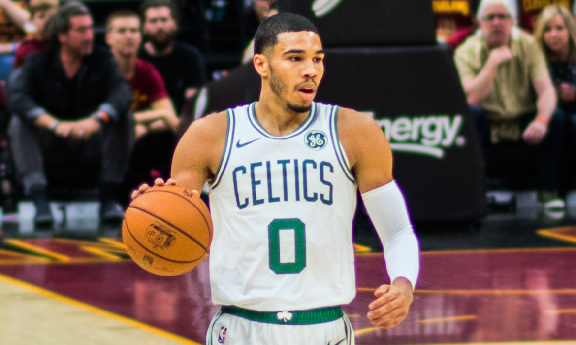 jayson tatum celtics boston nba basket