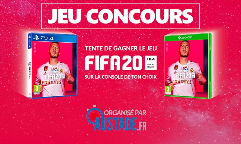 jeu concours fifa 20 au stade AuStade.fr