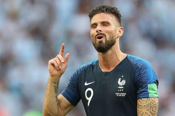 olivier giroud coupe du monde 2018 equipe de france bleus